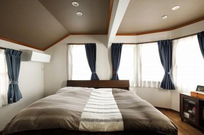 寝室は将来は2部屋に (ふたりと2匹の心地よい家)
