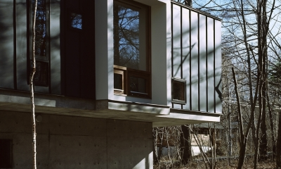 K-Villa / 北軽井沢の別荘 (外観)