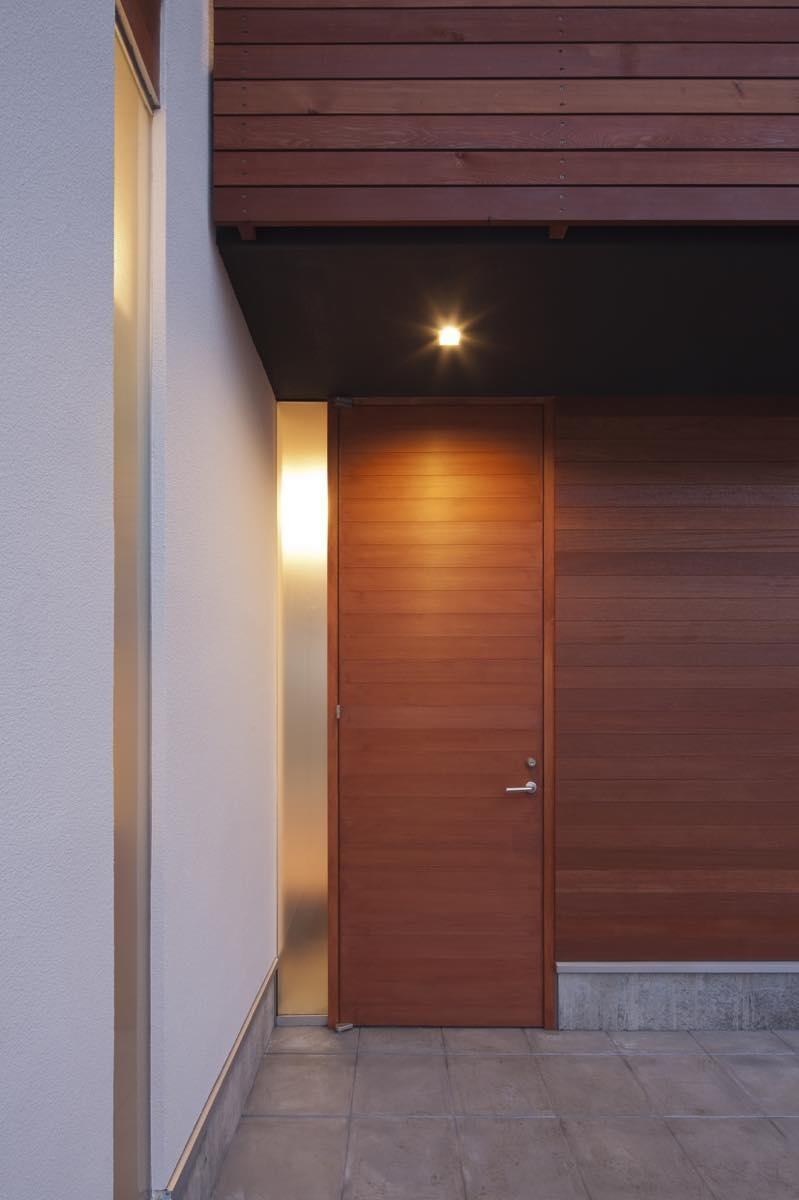 玄関事例:外観7(狛江の家・M邸)