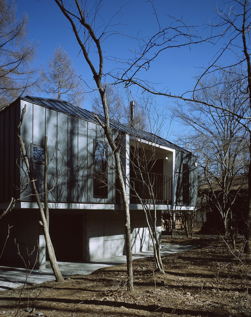 K-Villa / 北軽井沢の別荘の部屋 外観