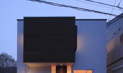 新横浜・篠原町の家 (外観2)