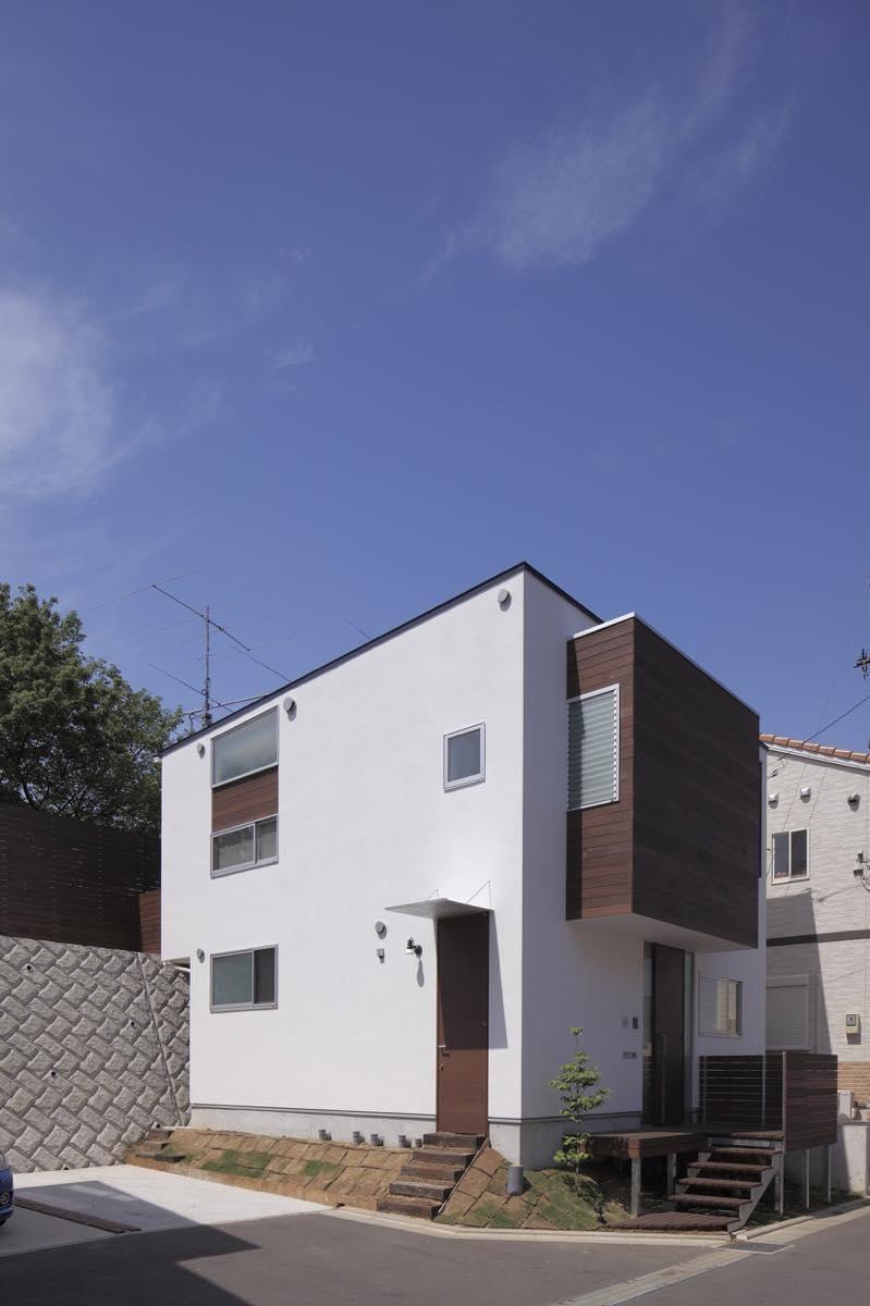 新横浜・篠原町の家 (外観3)