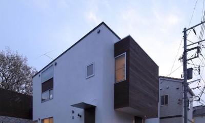新横浜・篠原町の家 (外観4)