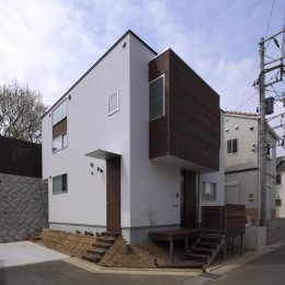 新横浜・篠原町の家 (外観6)