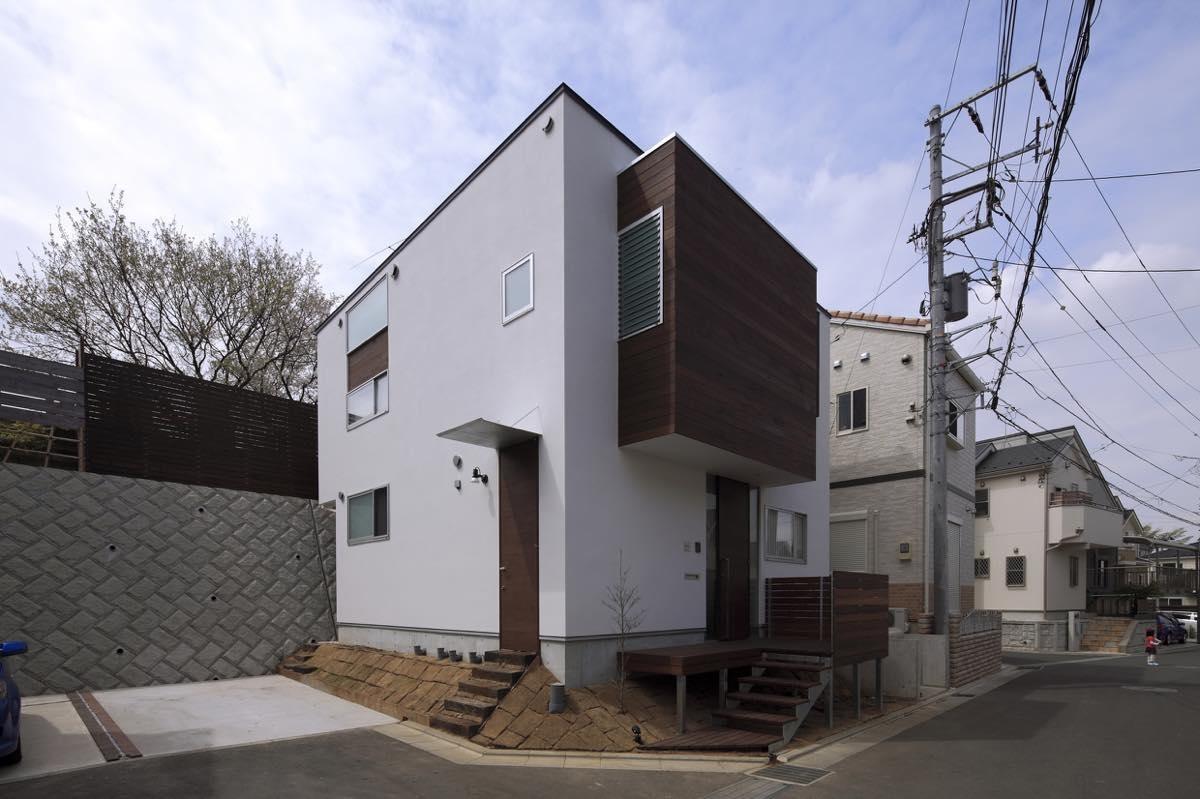 外観事例:外観6(新横浜・篠原町の家)