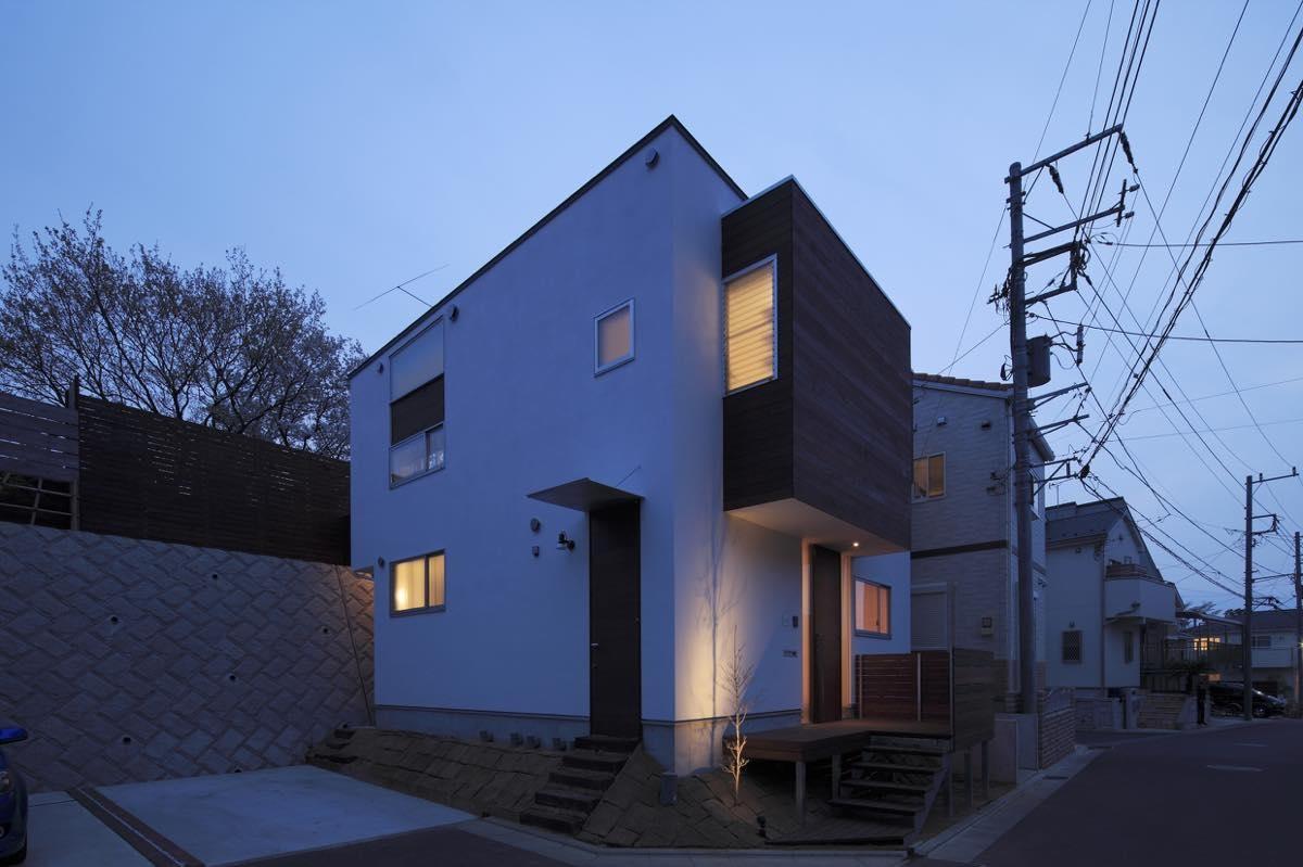 外観事例:外観7(新横浜・篠原町の家)