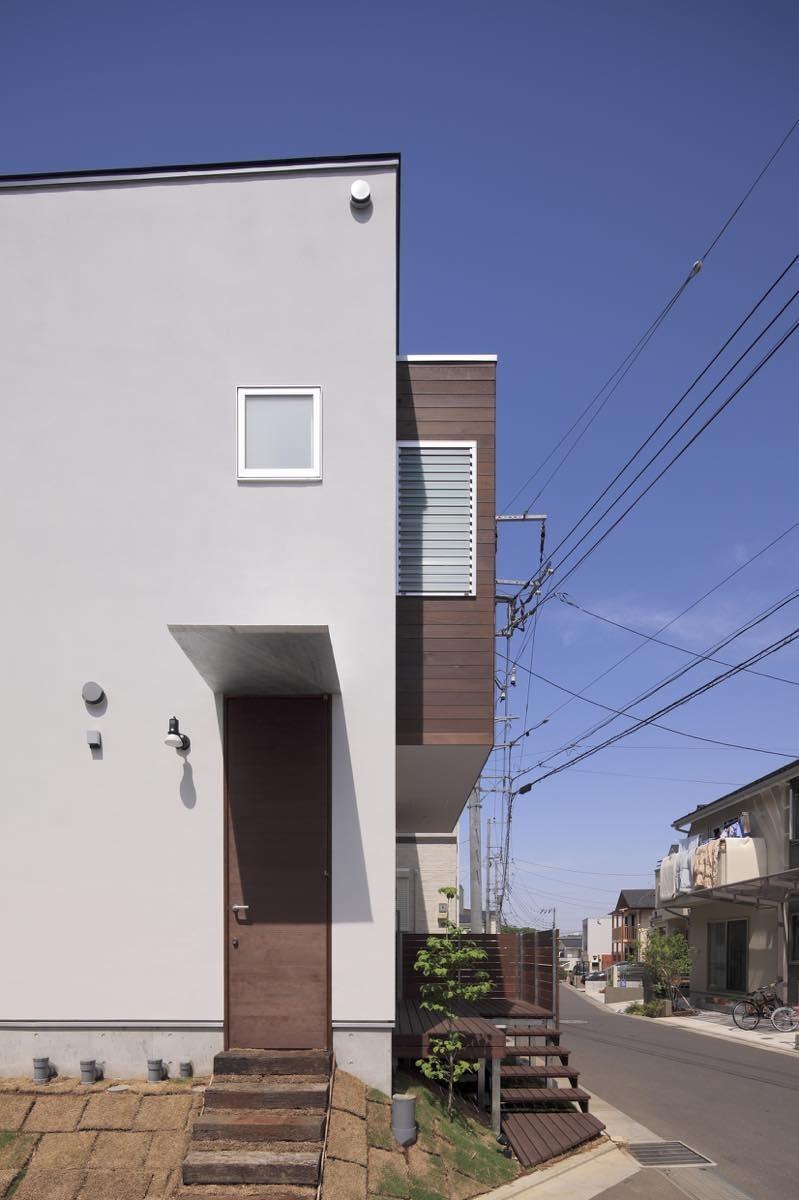 玄関事例:外観11(新横浜・篠原町の家)