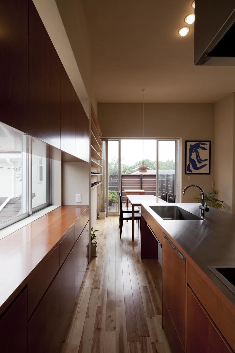 キッチン事例:内観15(美しが丘西の家・I邸)