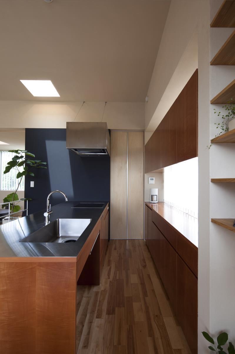 キッチン事例:内観16(美しが丘西の家・I邸)