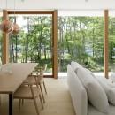 063大町青木湖Yさんの家の写真 LDK