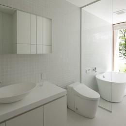 063大町青木湖Yさんの家 (浴室)