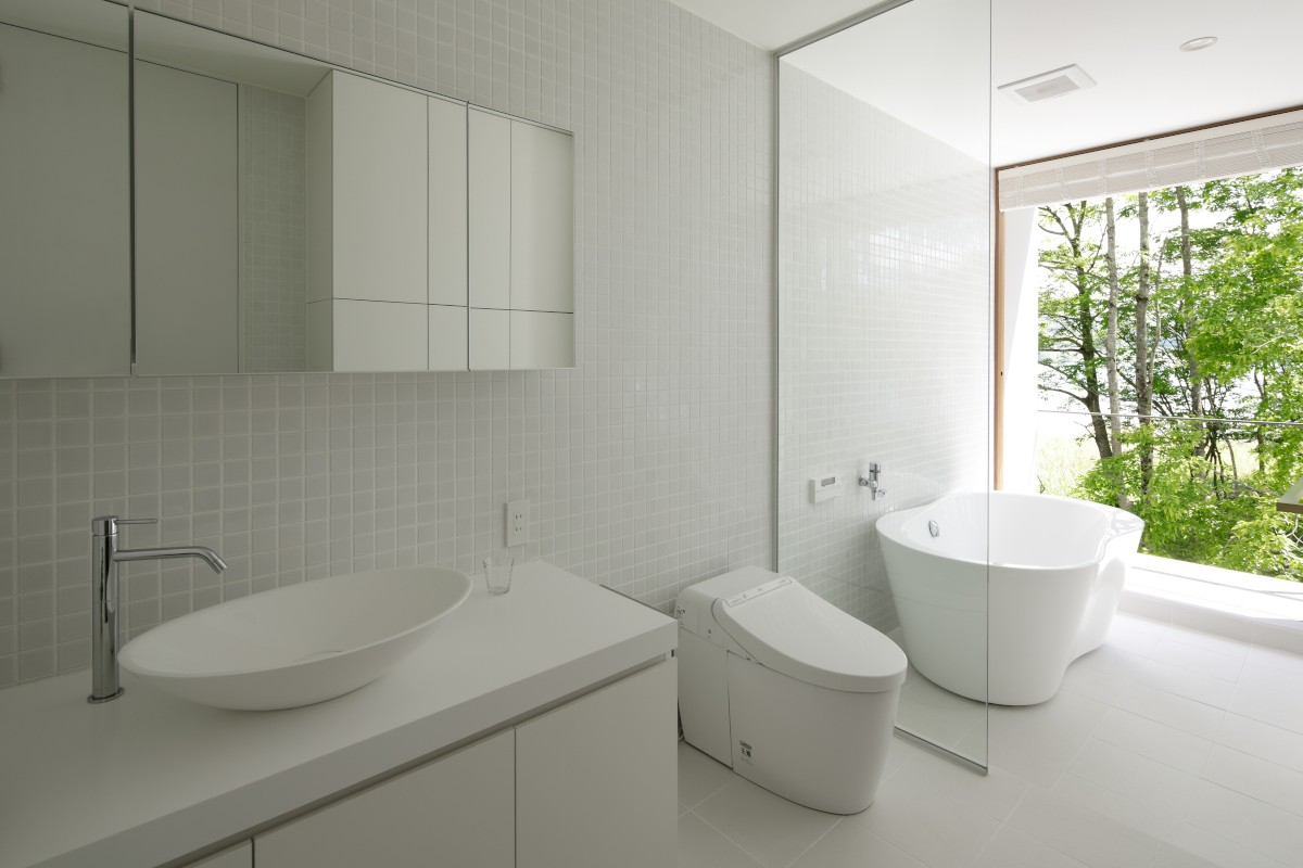 バス/トイレ事例:浴室(063大町青木湖Yさんの家)