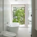 063大町青木湖Yさんの家の写真 浴室