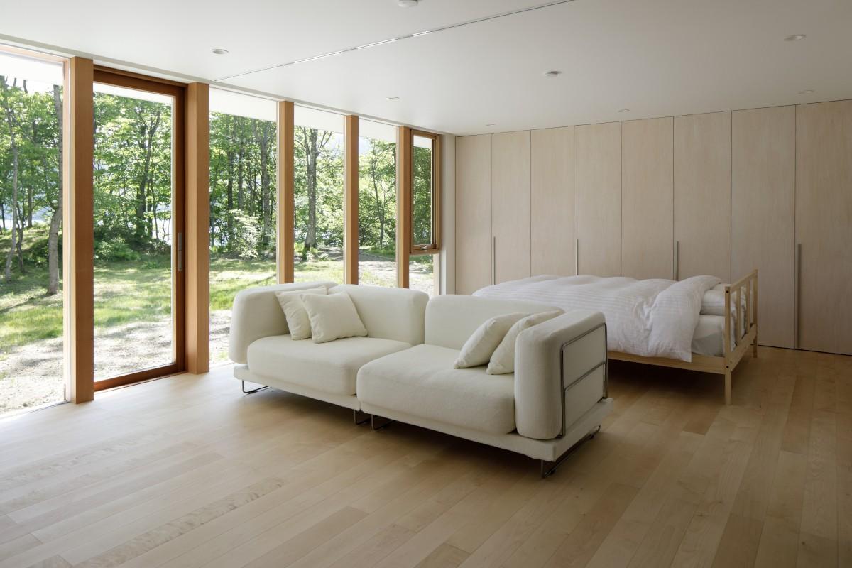 ベッドルーム事例:寝室(063大町青木湖Yさんの家)
