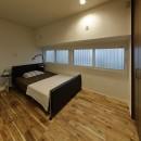 リノベでこだわりの住まいを実現!の写真 隠し部屋のような寝室