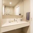 カジュアルヨーロピアンの写真 洗面室