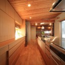 悠らりの家~音楽を愉しむ家~の写真 子世帯 キッチン