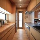 悠らりの家~音楽を愉しむ家~の写真 親世帯キッチン