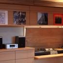 悠らりの家~音楽を愉しむ家~の写真 子世帯 レコード収納