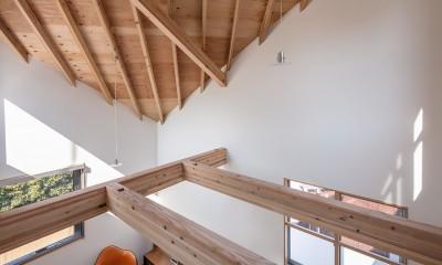 福岡市今川の家/ルーフバルコニーのある狭小住宅