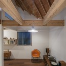 福岡市今川の家/ルーフバルコニーのある狭小住宅の写真 コンパクトリビング