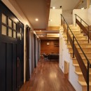 福貴の家~奈良県吉野材の長期優良住宅~の写真 階段