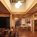 福貴の家~奈良県吉野材の長期優良住宅~の写真 リビング
