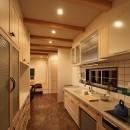 福貴の家~奈良県吉野材の長期優良住宅~の写真 キッチン
