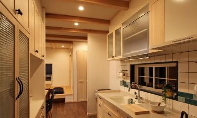 福貴の家~奈良県吉野材の長期優良住宅~ (キッチン)