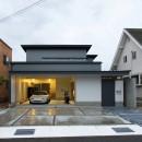 広山の家~ビルトインガレージのあるコートハウス~の写真 外観