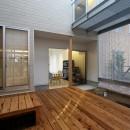 広山の家~ビルトインガレージのあるコートハウス~の写真 コート