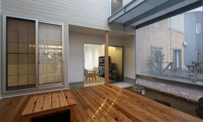 広山の家~ビルトインガレージのあるコートハウス~ (コート)