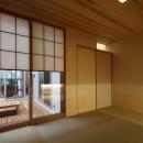 広山の家~ビルトインガレージのあるコートハウス~の写真 畳室