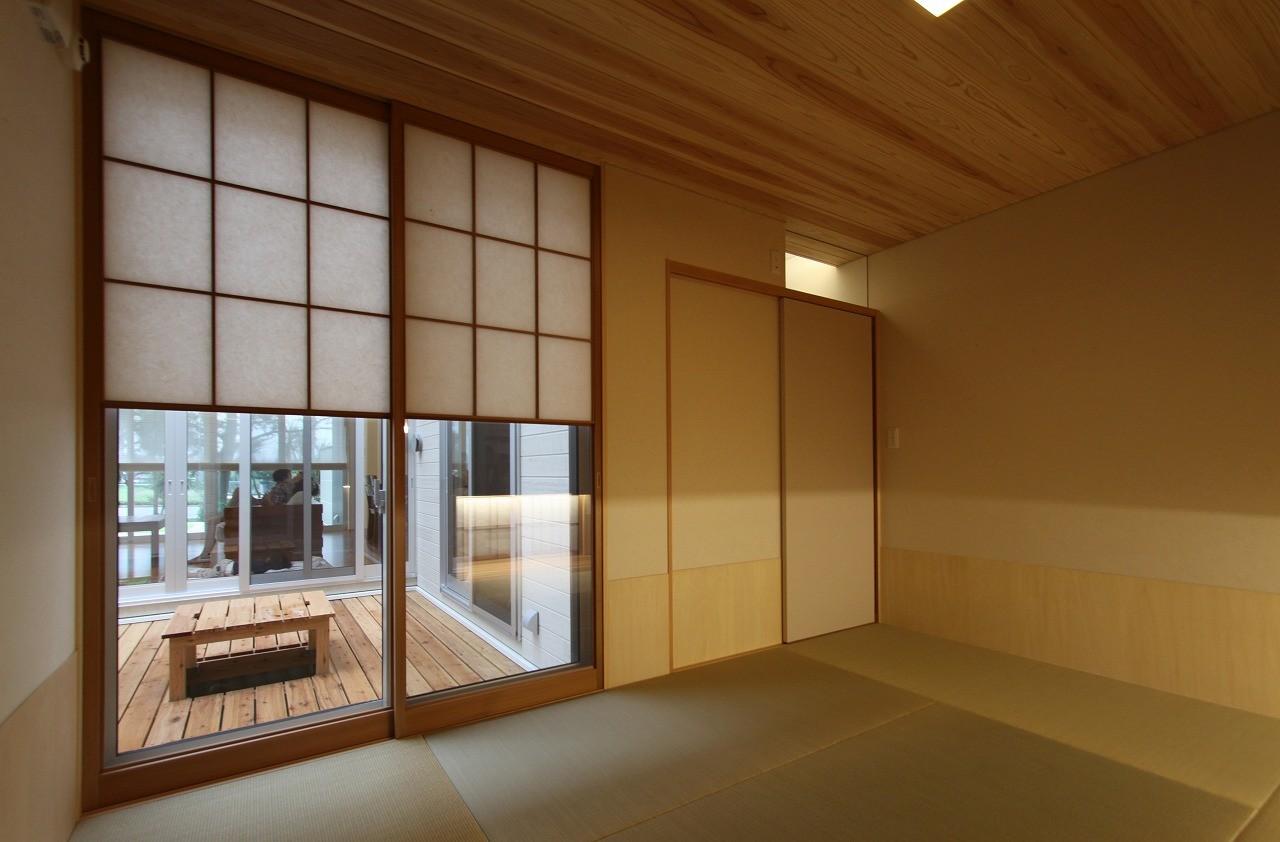 その他事例:畳室(広山の家~ビルトインガレージのあるコートハウス~)