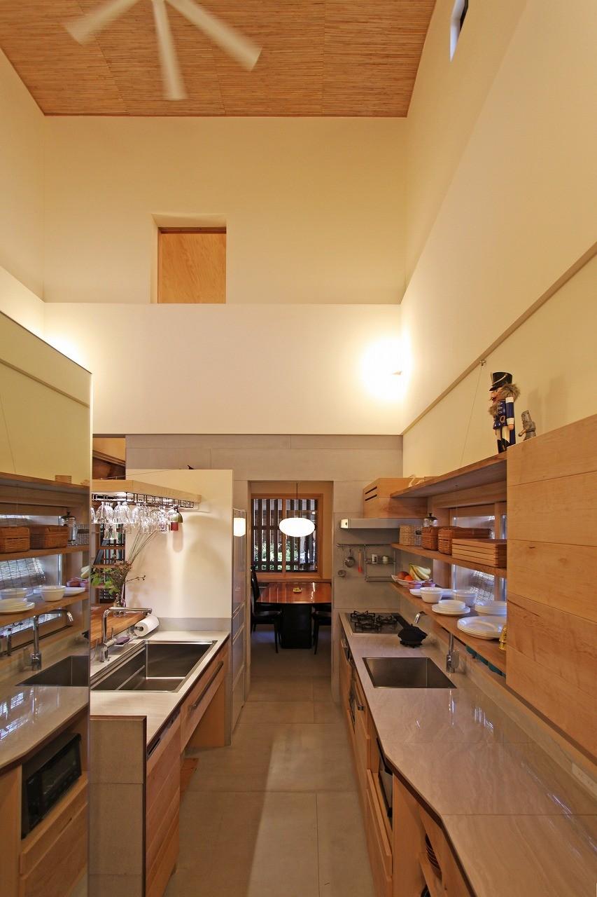 キッチン事例:キッチン(花内の家~古民家リノベーション~)