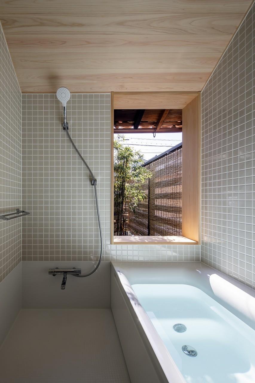 バス/トイレ事例:浴室(花内の家~古民家リノベーション~)
