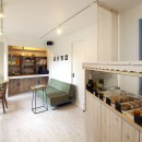 お菓子の家~店舗併設2世帯住宅。隠れ家的小さなお菓子工房のあるおうち~の写真 実家のダイニングキッチンと和室をリフォームした「お菓子工房」