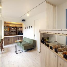 お菓子の家~店舗併設2世帯住宅。隠れ家的小さなお菓子工房のあるおうち~