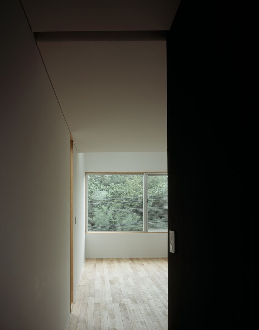 代沢の住宅 / 11坪の店舗付住宅 (リビングダイニング)