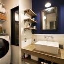 女子流ハンサムインテリアの写真 洗面室