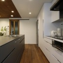 M様邸_こだわりキッチンのシンプル空間の写真 キッチン