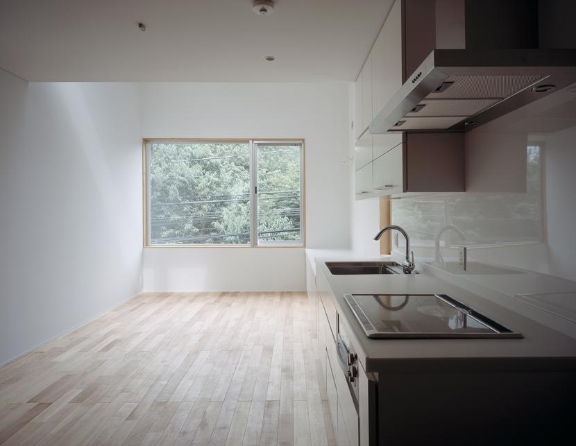 代沢の住宅 / 11坪の店舗付住宅の写真 リビングダイニングキッチン
