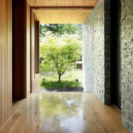 W山荘 (玄関)