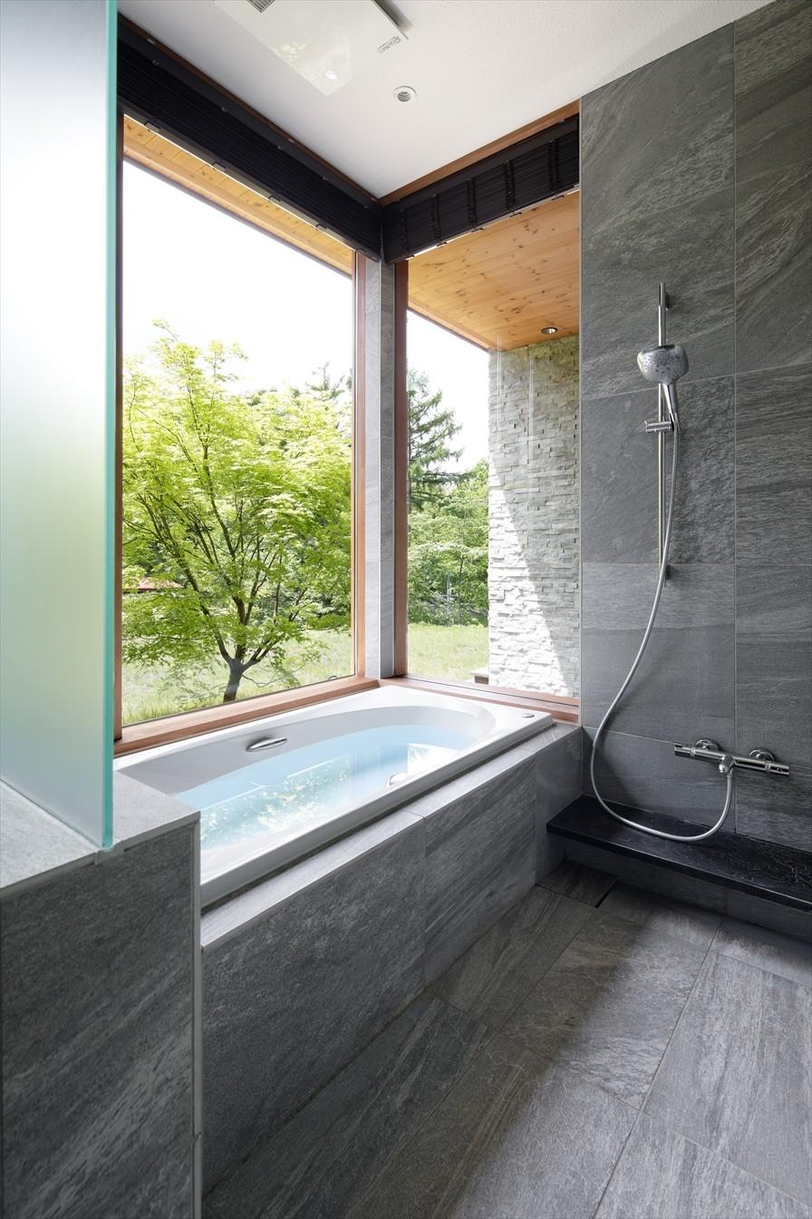 バス/トイレ事例:浴室(W山荘)