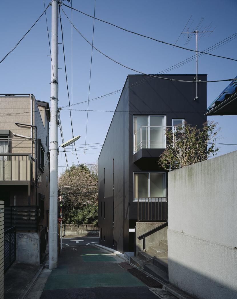 代沢の住宅 / 11坪の店舗付住宅の写真 外観