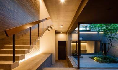 N邸 (玄関)