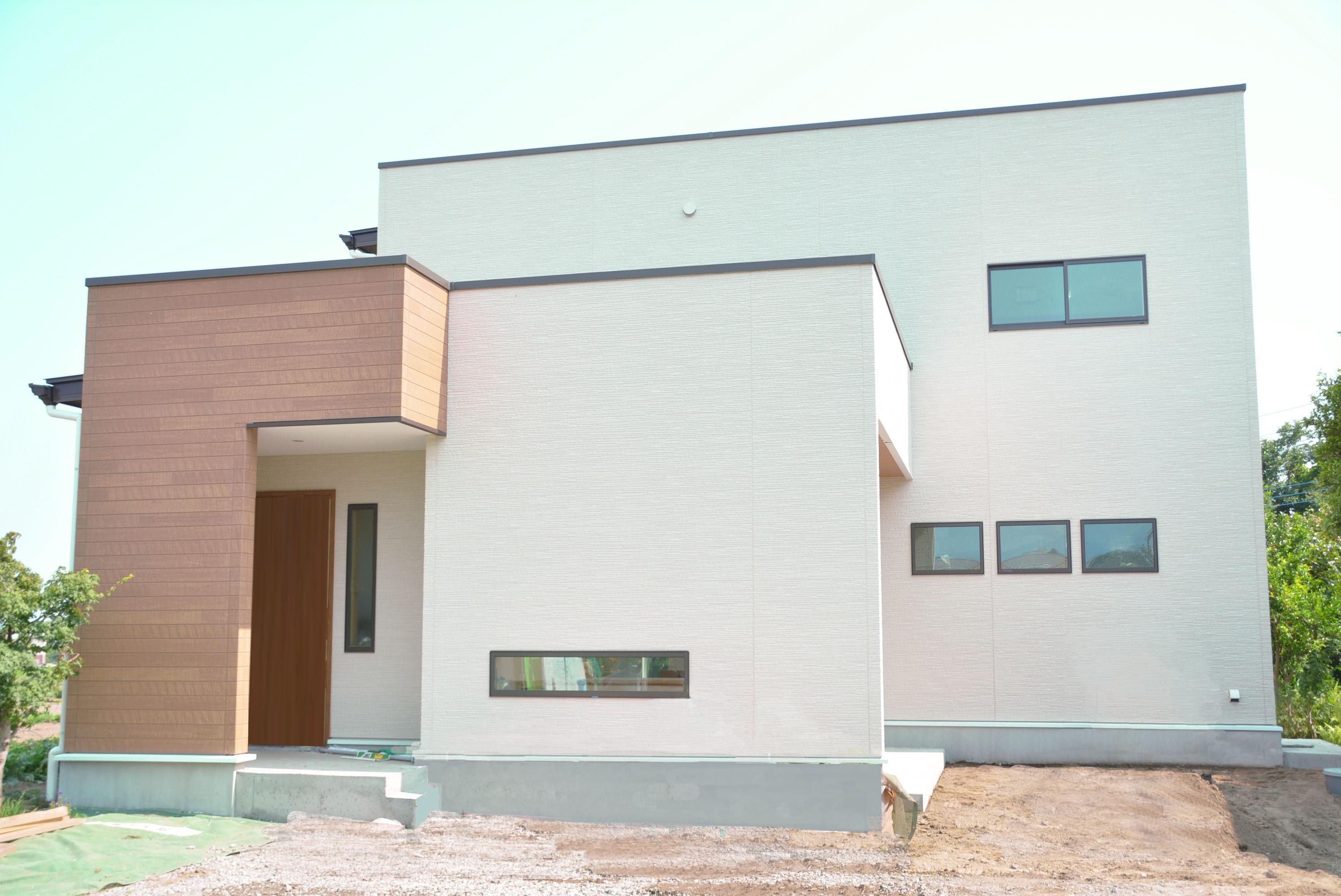 外観事例:外観(treenk house)