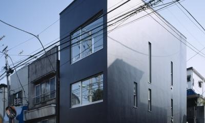 代沢の住宅 / 11坪の店舗付住宅