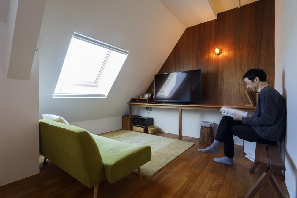 K邸-家は仕事を支える大切な場所。暮らしが心地よいと仕事もうまくいく (書斎)