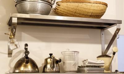 K邸-家は仕事を支える大切な場所。暮らしが心地よいと仕事もうまくいく (キッチン)